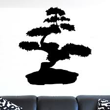 Bonsai Tree Plant Wall Sticker Decal World Of Wall Stickers