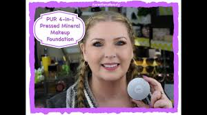 pur 4 in 1 pressed mineral powder