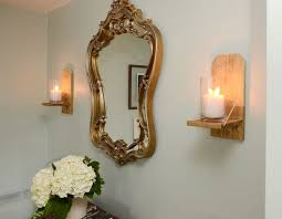 easy diy rustic chic candle sconce