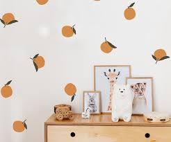 Orange You Glad Wall Decals The Lovely Wall Company