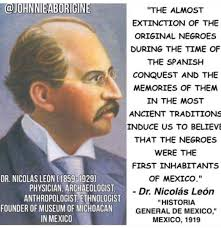 Dr. Nicolas Leon statement clearly confirms the existence of black American  natives. Who were Inslave… | Black history facts, American indian history,  History facts