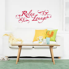 Relax Lounge Wall Decal Style And Apply