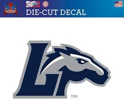 Amazon Com Victory Tailgate Longwood University Lancers Die Cut Vinyl Decal Approx 6x6 Sports Outdoors