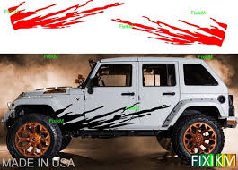Mud Splash Side Graphics Vinyl Decal Stickers Universal Size Etsy