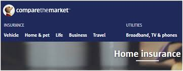 comparethemarket com house insurance quotes for contents and buildings