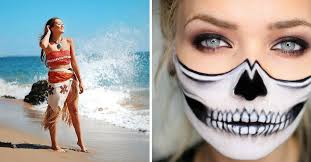 creative halloween makeup and costumes