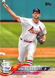 Amazon.com: 2018 Topps #81 Adam Wainwright St. Louis Cardinals ...