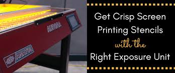 get crisp screen printing stencils with