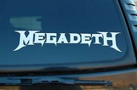 Megadeth Vinyl Sticker Decal Bumper Car Window Metallica Choose 6 To 24 V447 Ebay