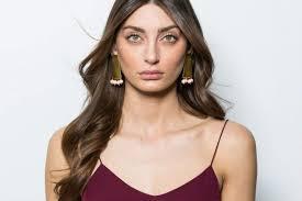 Ada - Long Shield Earrings - klaylife