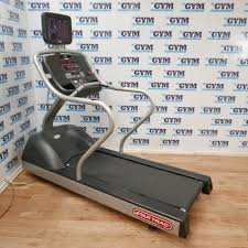 refurbished e tr treadmill with tv