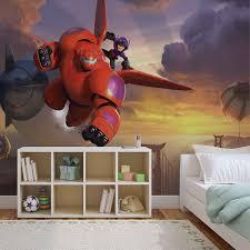 Disney Big Hero 6 Wall Paper Mural Buy At Abposters Com