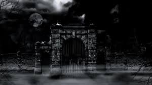 Scary Cemetery Gate Stock Video Download Video Clip Now Istock