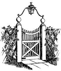 how to make a victorian wooden gate