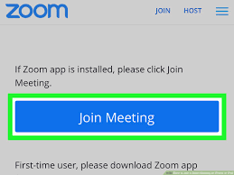 Install zoom meeting app