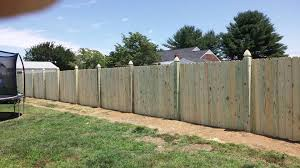 6ft Wooden Privacy Fence Warsaw Va Fence Scapes Llc