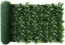 Amazon Com Ecoopts Aritificial Ivy Fence Wall Decor Faux Ivy Expandable Stretchable Privacy Fence Screen Plant Leaves And Vine Decoration For Home Yard Garden 1 Pic Garden Outdoor