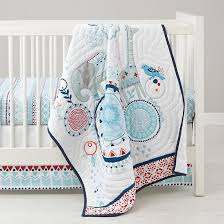 painted parade baby bedding animal