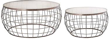 netty set of 2 coffee table