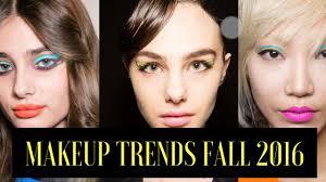 fall 2016 makeup trends you