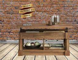 coffee table farmhouse rustic work desk