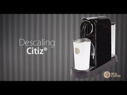descaling nespresso descaler