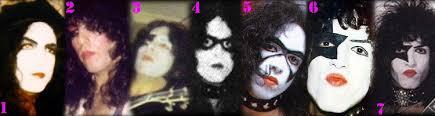 paul stanley makeup evolution