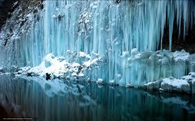 wallpaper water icicles