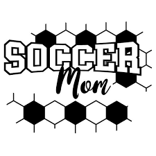 This Is Soccer Mom Vinyl Cut Decal Sticker Kids Sports Taxi Crown Decals
