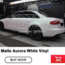 Highest quality matte glossy Aurora white wrapping paper car ...