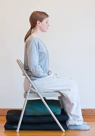 Image result for sitting straight on chair