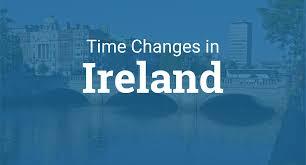 Daylight Saving Time 2020 in Ireland