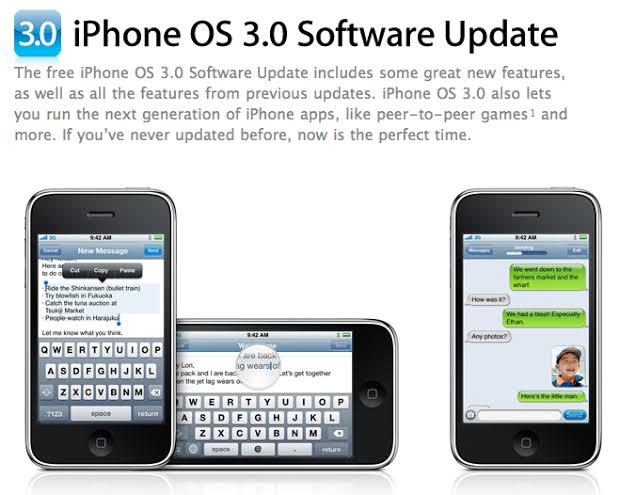 iPhone OS 3 ile ilgili görsel sonucu
