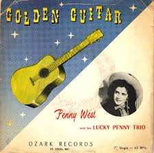 Penny West And Her Lucky Penny Trio* - Golden Guitar (1956, Vinyl) | Discogs