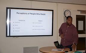 Aaron Day leads leadership seminar at BC – The Watchdog