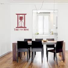 Time For Wine Wall Quote Decal
