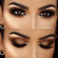 brown eyes pop almond eye makeup
