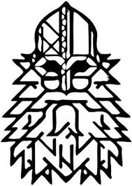 Game For Honor Wall Vinyl Decal Viking Face Wall Poster Decor For Home 22x22 To 22x40 Size Image Fh1 Amazon Com