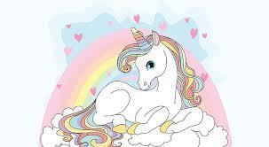 unicorn y rainbow hd 4k
