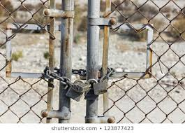 Chain Link Fence Lock Images Stock Photos Vectors Shutterstock