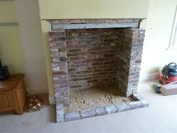 opening up and building fireplaces