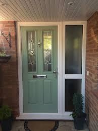 green front doors composite front door
