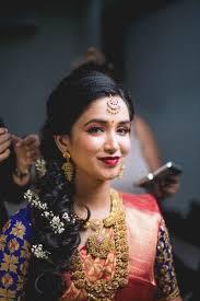 indian bride makeup and hair saubhaya