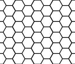 Honeycomb Pattern Vinyl Decal Etsy
