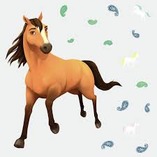 Spirit Riding Free Peel And Stick Giant Wall Decals Walmart Com Walmart Com
