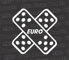 Euro Bandage Decal Thisguysdecals