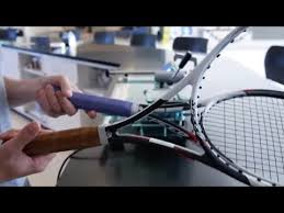 synthetic or leather tennis racquet