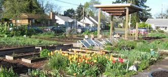 portland community gardens oregon