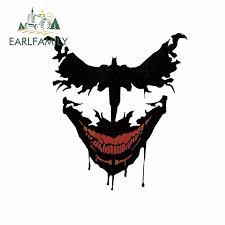 Earlfamily 13cm X 12cm For Batman Vs Joker Personality Creative Stickers Body For Car Waterproof Van Decoration Car Decals Car Stickers Aliexpress