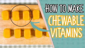 easy chewable vitamin recipe for kids